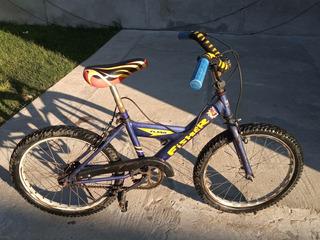 Bicicleta Niño Rodado 20