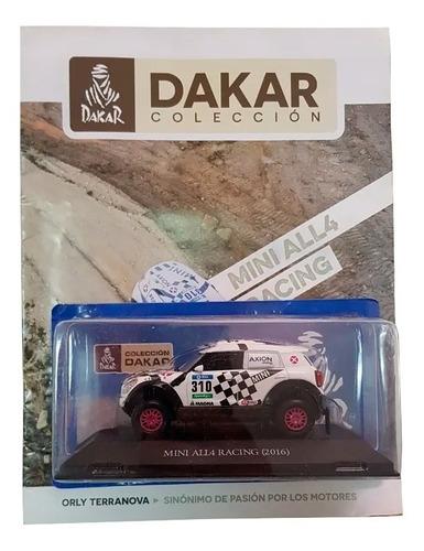 Imagen 1 de 5 de Libro Coleccion Dakar Mini All4 2016