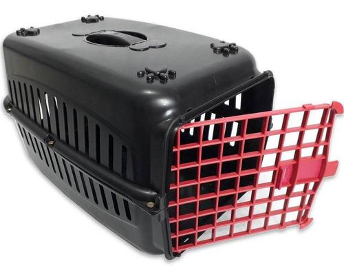 Caixa De Transporte  Vermelho Cachorro Gatos Coelho Cão  Nº3