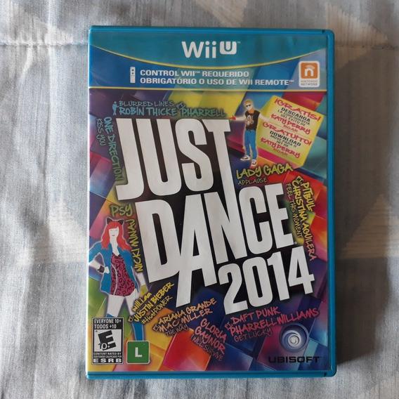 Nintendo Wii U Just Dance 2014 + Manuais + Panfletos + Case