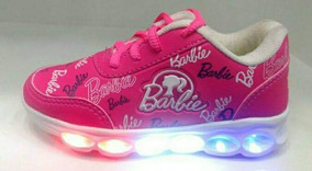 Tenis Barbie De Led Infantil