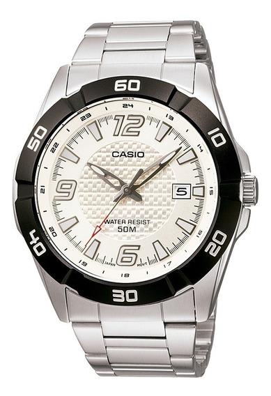 Relogio Casio Mtp 1292d Aço Pesado Data Wr50 Class Mascul Nf