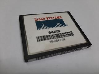 Cartão De Memoria Flash 64mb Cisco System