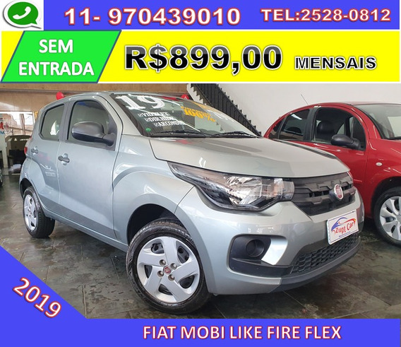 Fiat Mobi Like 1.0 Fire Flex - 2019 - Uber