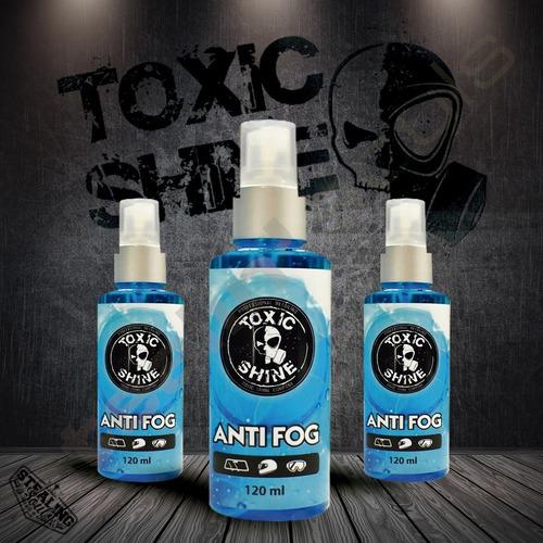 Imagen 1 de 6 de Toxic Shine | Anti Fog | Anti Empañante / Desempañante 120cc