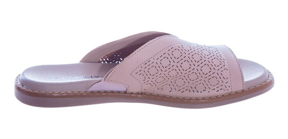 Chinelo Feminino Piccadilly Soft Step Rose 505038