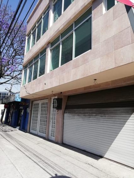 Edificio En Renta Completo Que Cuenta Con 4 Niveles Y Tiene Uso Comercial Amplio