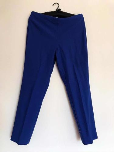 Pantalón Azul Rey, Charter Club, Modelo Chelsea Skinny