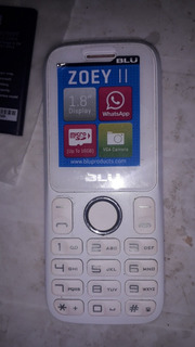Celular Blu Zoey Ii
