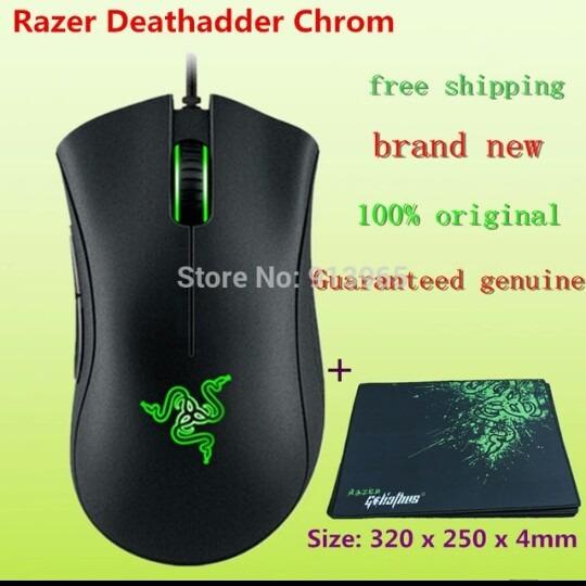 Mouse Razer Deathadder Novo 10,000 Dpi + Saco Envio Grátis!