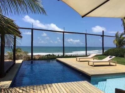 Casa Duplex Em Condomínio Beira Mar. - Ca01128