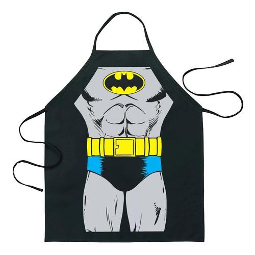 Batman Delantal Superman Superheroes  Dc Cocina Papá
