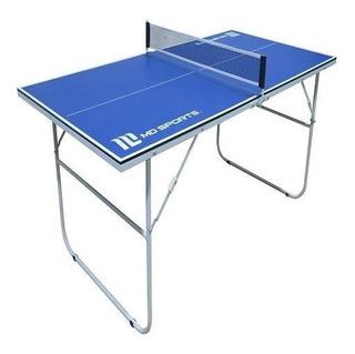 Mesa de ping pong MD Sports TT209Y19007 azul