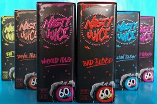 Esencias Nasty Juice Metálicas 60ml 0 A 3mg Para Vaporizador