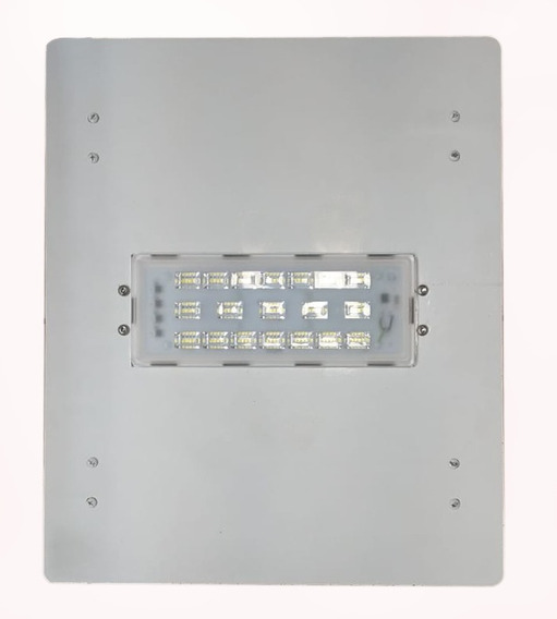 Luminária Led Postos De Gasolina/ Galpões 1 Modulo 50w Alum.