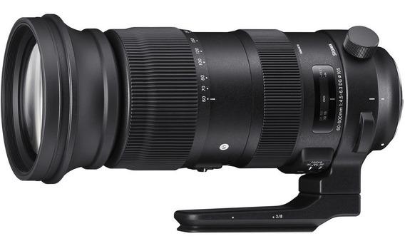 Sigma 60-600mm F/4.5-6.3 Dg Os Hsm Sports Lente