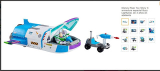 Disney Pixar Toy Story 4 Armadura Espacial Buzz Lightyear