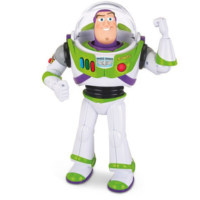 Boneco Colecionável Com Som Toy Story Buzz Lightyear Toyng
