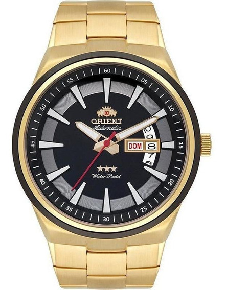 Relógio Orient Analógico Automático 469gp081 P1kx Dourado