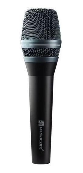 Microfone Com Fio De Mão Profissional Sm 300 Relacart