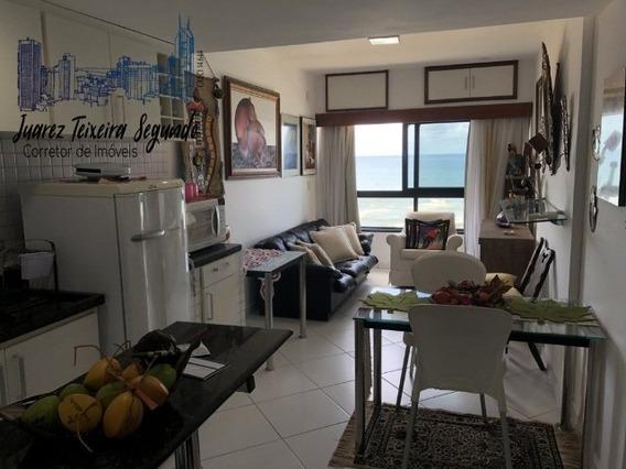 Apto 2/4 Com 1 Suíte No Ondina Apart Vista Frontal Do Mar Porteira Fechada Oportunidade! - 02706 - 32262912