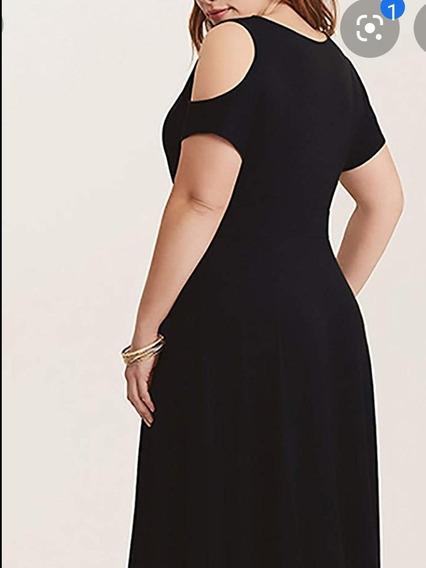 Vestido Algodón Talle Grande 4xl (130cm De Busto)
