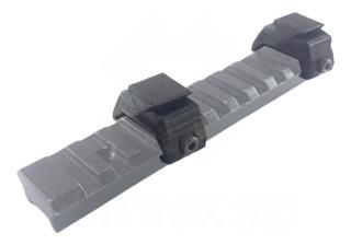 Kit 2 Adaptadores Trilho 20mm Para 11mm Luneta Red Dot Scope