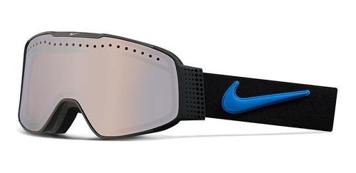 Antiparras Ski Snowboard // Nike Fade Black Lt Photo Blue