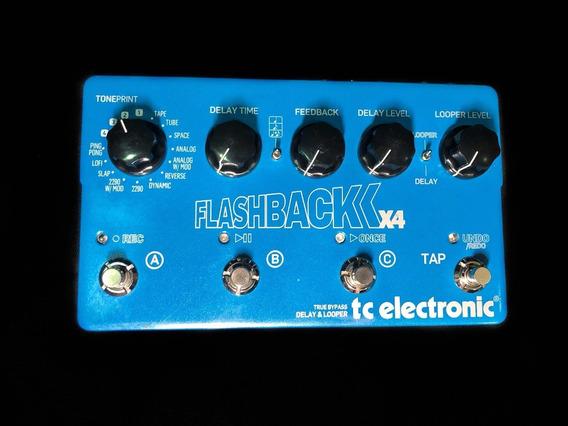 Pedal Tc Electronic Flashback X4 - Delay / Looper
