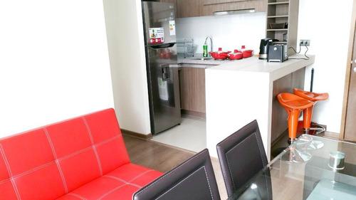 Imagen 1 de 7 de Arriendo Departamento Amoblado (2 Dormitorios Y 1 Baño)