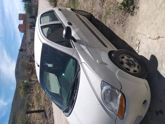 Pontiac Matiz 2010 Color Blanco Muy Económico De Gasolina, P