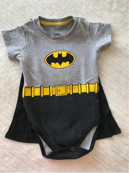 Body Batman Com Capa Removível.
