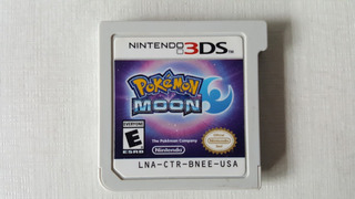 Pokemon Moon - Nintendo 3ds - Original