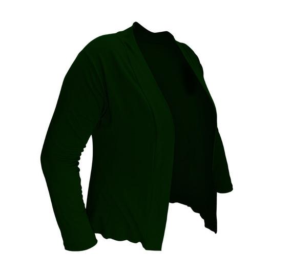 Blusa Casaco Cardigan Feminino Viscolycra Plus Size Ao G4 58