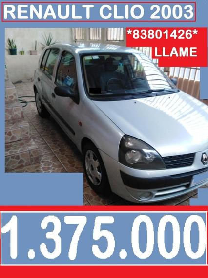 Renault Clio 2003 Hb 1.375.000 Al 8380-1426-3