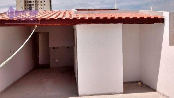 Cobertura Com 2 Dormitórios À Venda, 46 M² Por R$ 309.000,00 - Vila Eldízia - Santo André/sp - Co0101