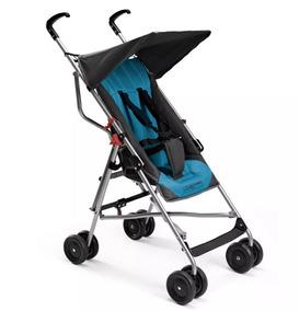 Carrinho De Bebê Passeio Guarda-chuva Pocket Multikids Azul