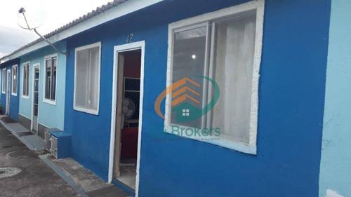 Imagem 1 de 20 de Casa Com 2 Dormitórios À Venda, 47 M² Por R$ 150.000,00 - Vila Nova Bonsucesso - Guarulhos/sp - Ca0190