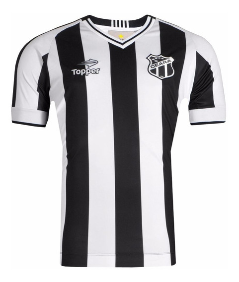 Camisa Oficial Ceara Topper 2017 Listrada + N.f