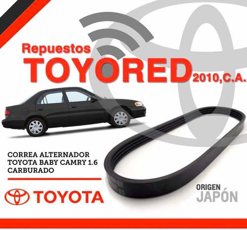 Correa De Alternador Para Toyota Corolla Baby Camry Original