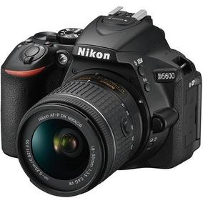 Câmera Digital Nikon D5600 + Lente 18-55 Vr Novos + Brindes#