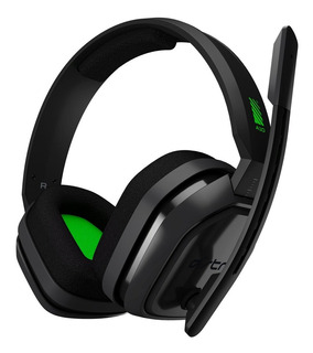 Auricular Headset Gamer Astro A10 Verde-gris Pc-ps4-xboxone-