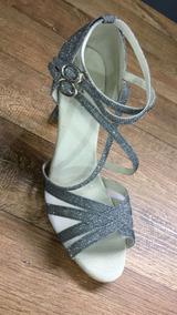 b4eb87368 Sandalia De Danca Capezio Dourada Com Glitter - Sapatos no Mercado ...