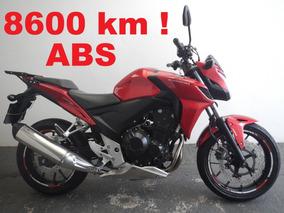 Cb 500 F Abs - Só 8.600 Km !!