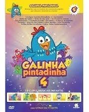 Galinha Pintadinha 4 Dvd 14clipes Musicais