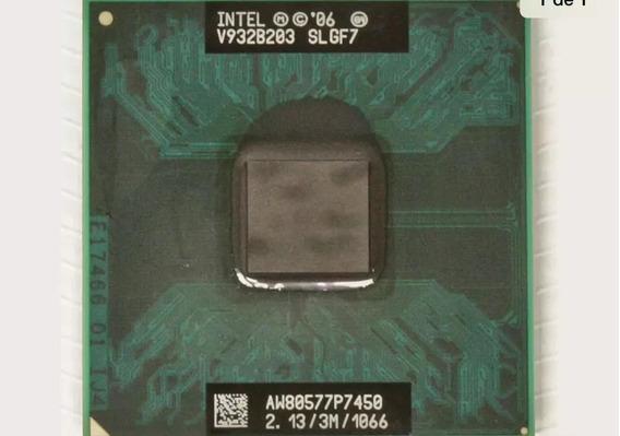 Processador Core2duo P7450 2.13/3m/1066 Fsb Funcionando