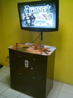Tablero De 2 Jugadores Arcade Con Cpu 2000 Juegos