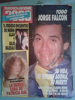 Revista Radiolandia 2000 - 1987 - Noemí Alan, Julio Iglesias