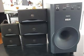 Home Theatre 5.1 Rca Sistema De Audio No Se Escucha