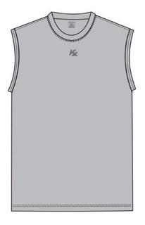 Camisa Regata Classica Kanxa Tecido Drysoft Masculino